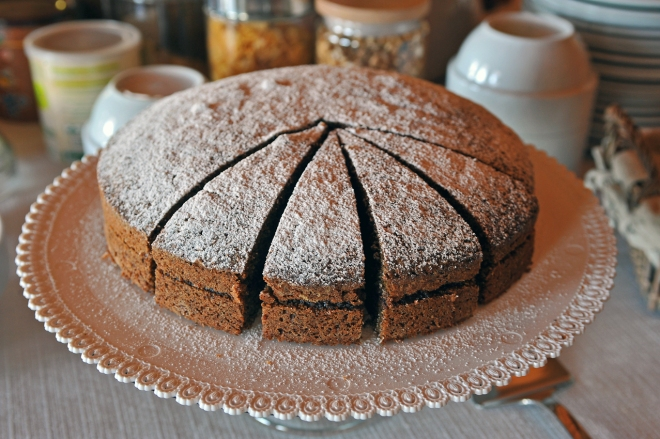 Torta con grano saraceno 2