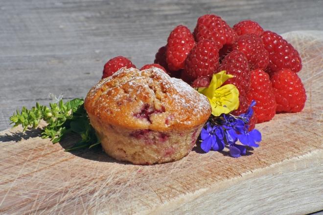 Muffin lampone